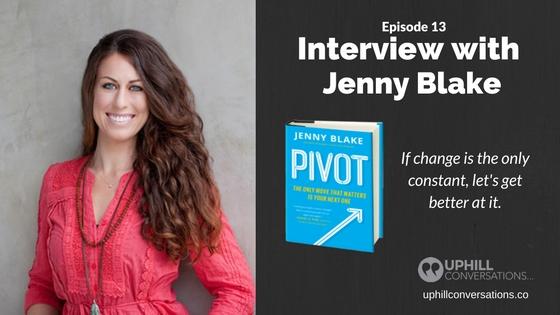 Episode 13 - Jenny Blake