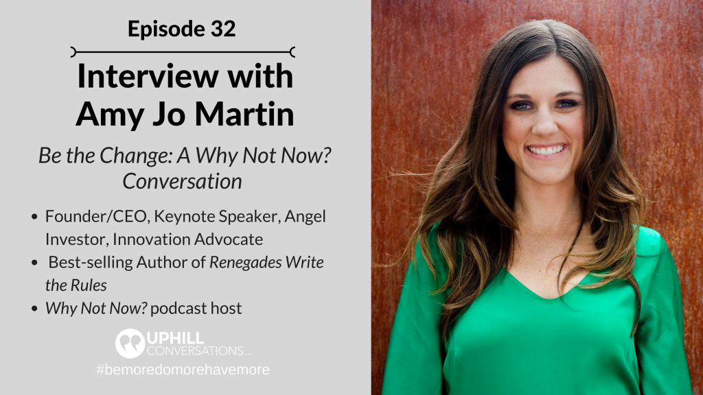 Interview with Amy Jo Martin