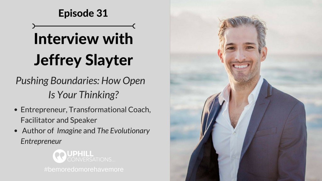 Interview with Jeffrey Slayter