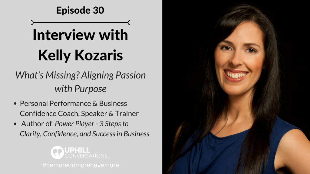Interview with Kelly Kozaris