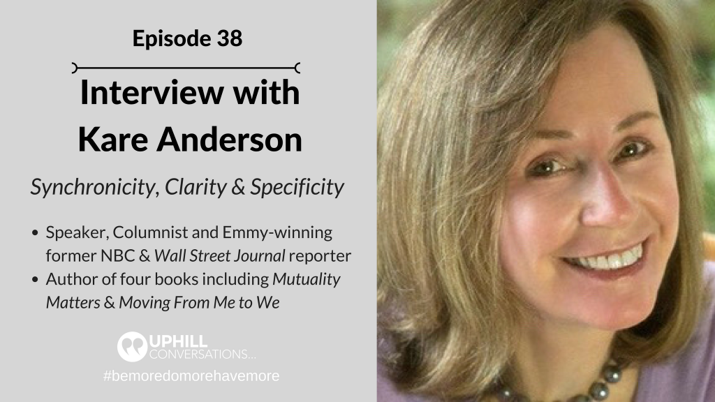 Interview with Kare Anderson
