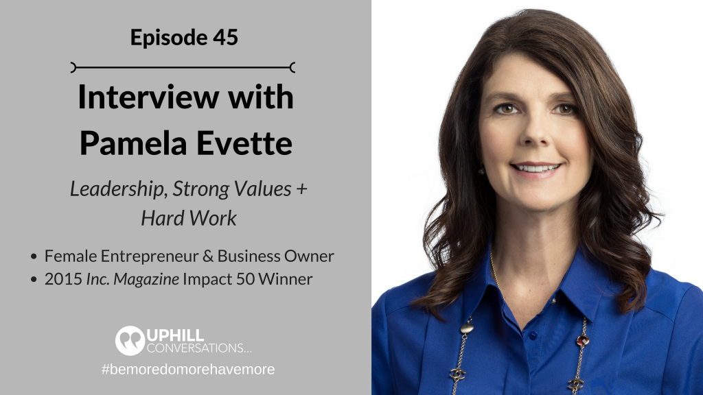 Interview with Pamela Evette