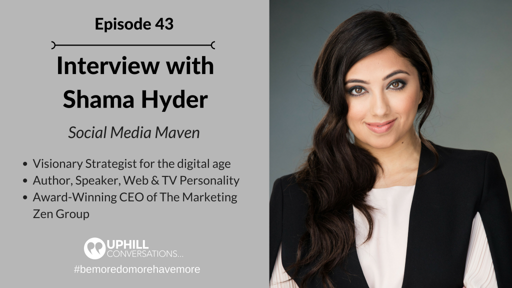 Interview with Shama Hyder